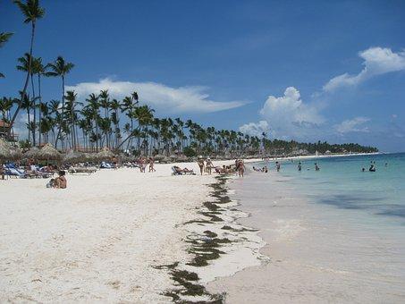 Beach, Punta Cana, Dominican, Sand, Sun, Resort