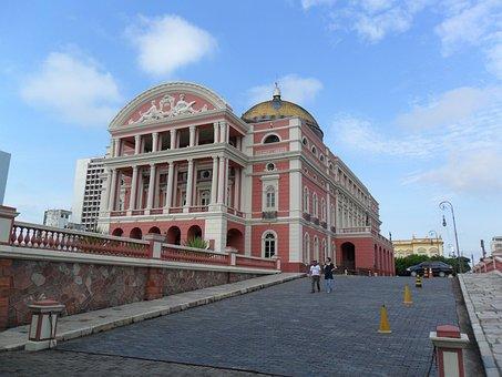 Manaus, Brazil, Theatre Of Rubber