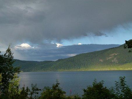 Thunderstorm, Canim Lake, British Columbia, Canada