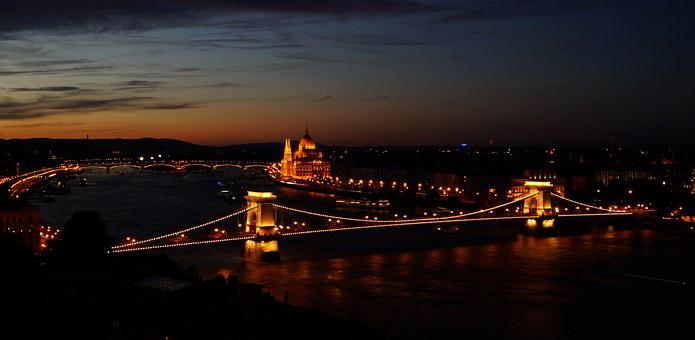 Budapest, Hungary, Capital, Places Of Interest, Danube