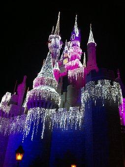 Disney World, Cinderella's Castle, Orlando Florida