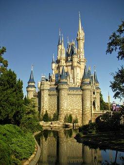 Disney World, Castle, Disney, Orlando