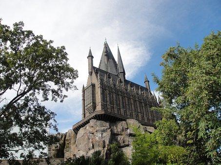 Hogwarts, Univeral, Florida, Orlando, Harry Potter
