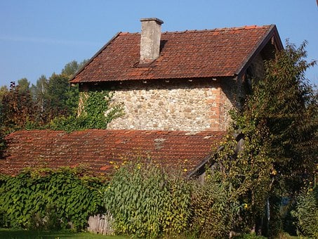 Bavaria, Germany, Farm, Nature, Rock, Home, Garden