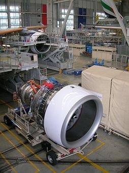 Airbus, Engine, Rolls Royce, Turbine, Jet, Machine