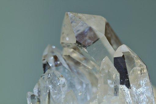 Rock Crystal, Crystal, Semi Precious Stone, Mineral