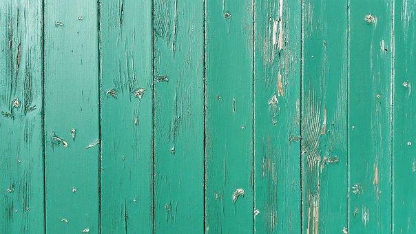 Wood, Wooden Slat, Color, Green, Old, Boards