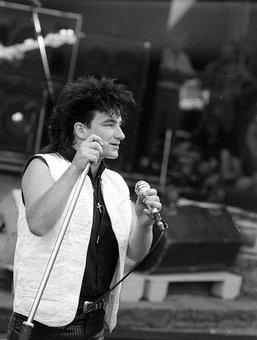 Bono, U2, Rockpalast, 1983, Loreley, Live Music