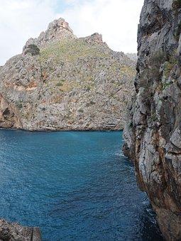 Bay, Sa Calobra, Bay Of Sa Calobra, Serra De Tramuntana