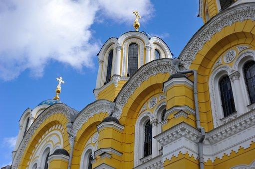 Ukraine, Kiev, Church, St Vladimir's Cathedral