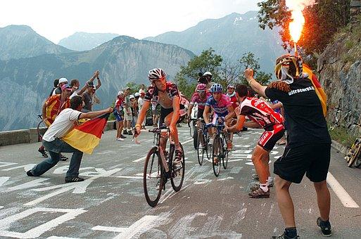 Tour De France, After L 'alpe D' Huez Climb