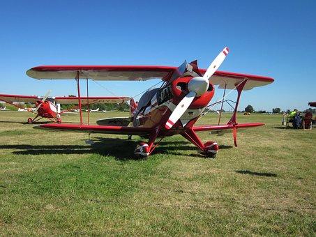 Airshow, Herrenteich, Classic, Plane, Aircraft