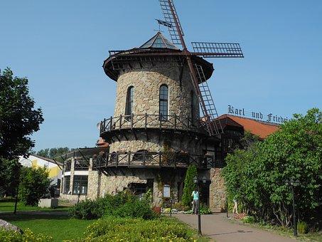 Vacation, Park, Sights, Café-mel′nicv, Architecture