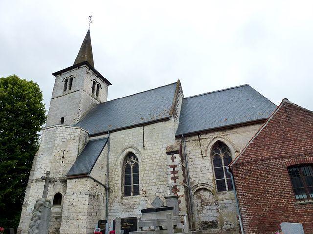 Auchy-aux-bois, Church, Pas-de-calais, Building