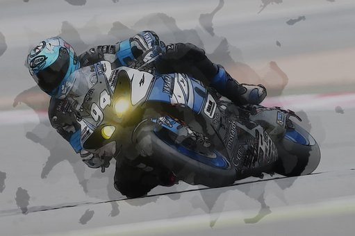 Motorcycle Racer, Racing, Race, Speed, Bike, Motorbike
