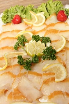 Greenland Halibut, Fish, Halibut, Buffet, Cold Buffet