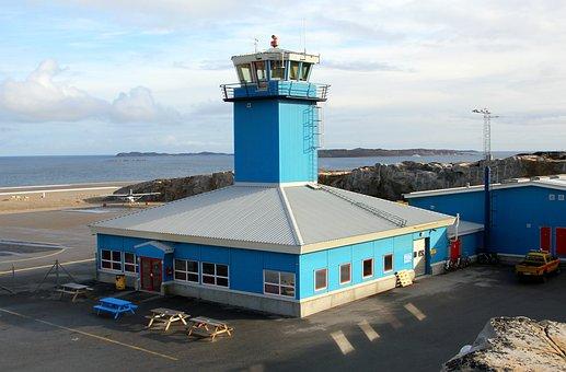 Airport, Building, Tower, Greenland, Aasiaat