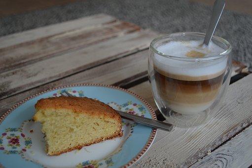 Cameron, Cappuccino, Double, Cake, Bodum, Glass, Strata
