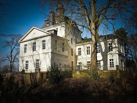 Castle, Manor House, Villa, House, Building