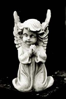 Angel, Stone Angel, Memory, Mourning, Cemetery, Death