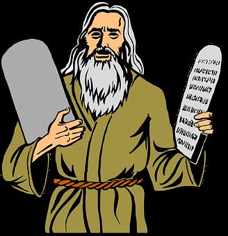 Moses, Religion, Christianity, Commandments, 10, Ten