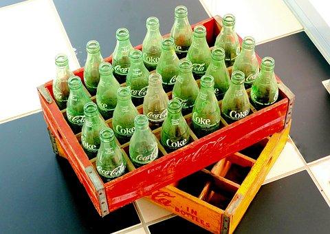 Old Box Cola, Cola, Bottles, Drink, Cola Bottles