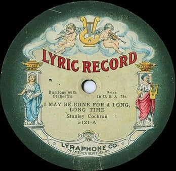 Record, Old, Poetry, Plate, Music, Flea Market, Junk