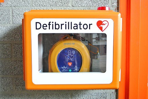 Defibrillator, Revival, First Aid, Ill, Heart, Disease
