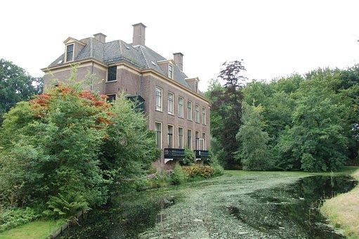 Landgoed De Laila Driebergen, Nature, Manor, Pond