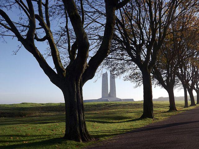Monument, Canadian, Vimy, Pas De Calais