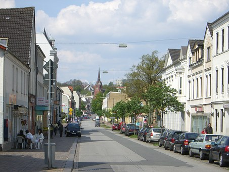 Flensburg, Neustadt, St Petri, Mountain Mill