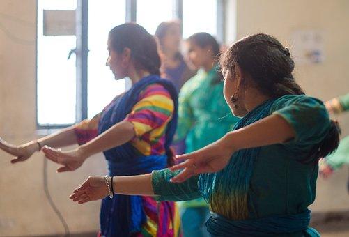 Indian Dance, Rhythm, Grace, Performance, Classic