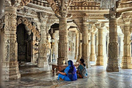 Dzinijska Temple, Religion, Prayer, Stone, Architecture
