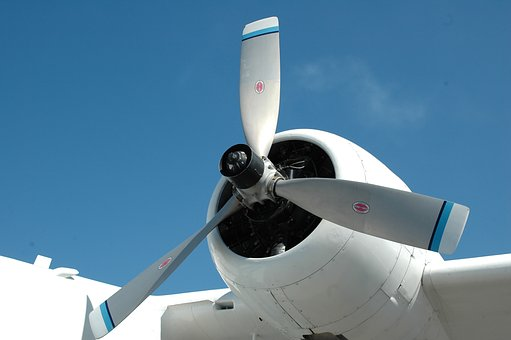 Airplane, Propeller, Aircraft, Plane, Engine, Fly