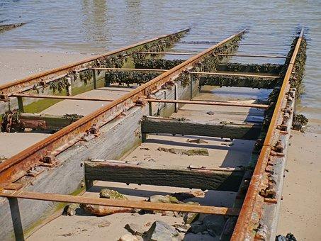 To Dress Shipyard, Slipway, Dry Dock, Rails