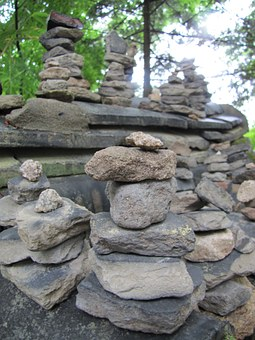 Stone, Boulder, Stone Tower, Rock, Dirt, Wish, Racing
