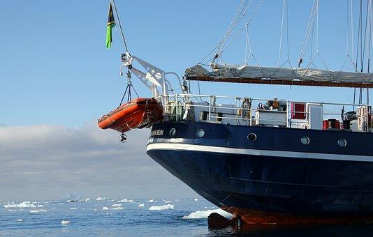 Ship, Boat, Sailboat, Acts, Sea, Greenland
