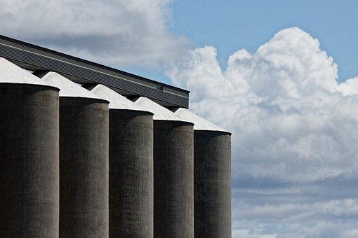 Grain Silo, Corn, Storage, Grain, Silo, Agriculture