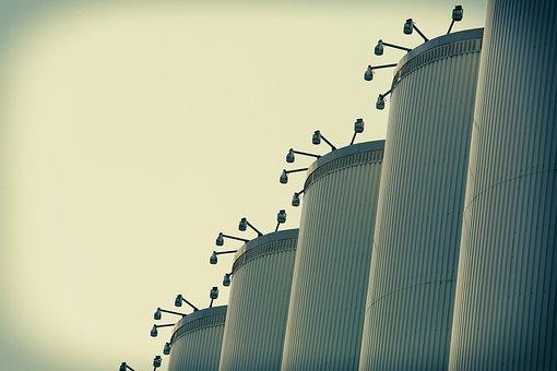 Silos, Storage, Quebec, Grain, Industry, Industrial