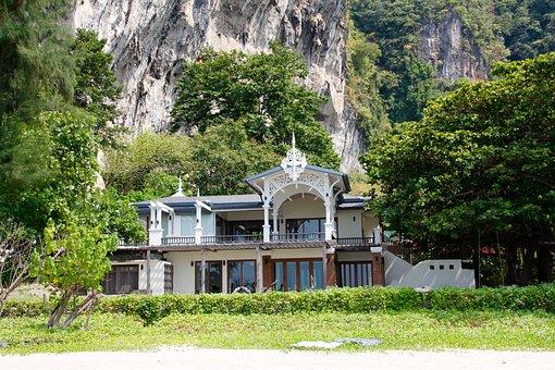Villa, Home, Thailand, Building, Architecture