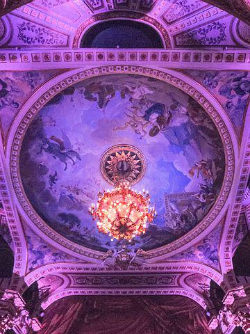 Ceiling, Fresh, Dome, Theatre, Top, Light, Madrid