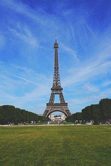 Eiffel Tower, Paris, France, Tower, Architecture