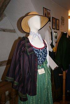 Costume, Dirndl, Clothing, Tradition, Bavarian