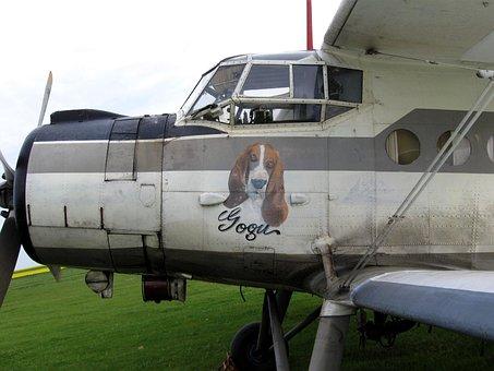 Biplane, An-2, Airplane, Vintage, Aviation, Cockpit