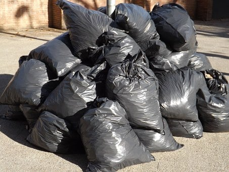 Garbage, Bags, Waste, Plastic, Pollution, Environment