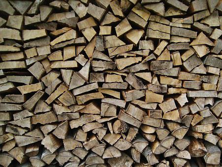 Wood For The Fireplace, Holzstapel, Wood Finn, Wood