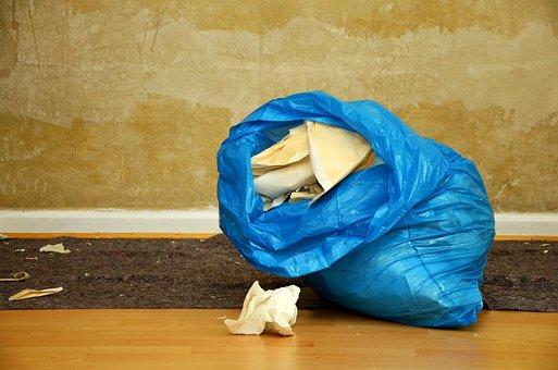 Renovate, Wallpaper, Garbage Bag, Garbage, Wall, Work