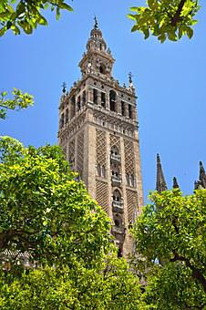 Seville, Andalusia, Cathedral, Temple, Church