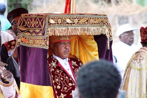 Priest, Orthodox, Ethiopia, Talbot, Ark Of The Covenant