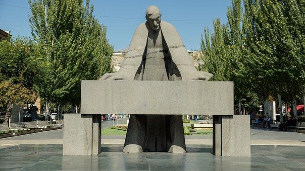 Statue, Monument, Sculpture, Art, Architecture, Yerevan